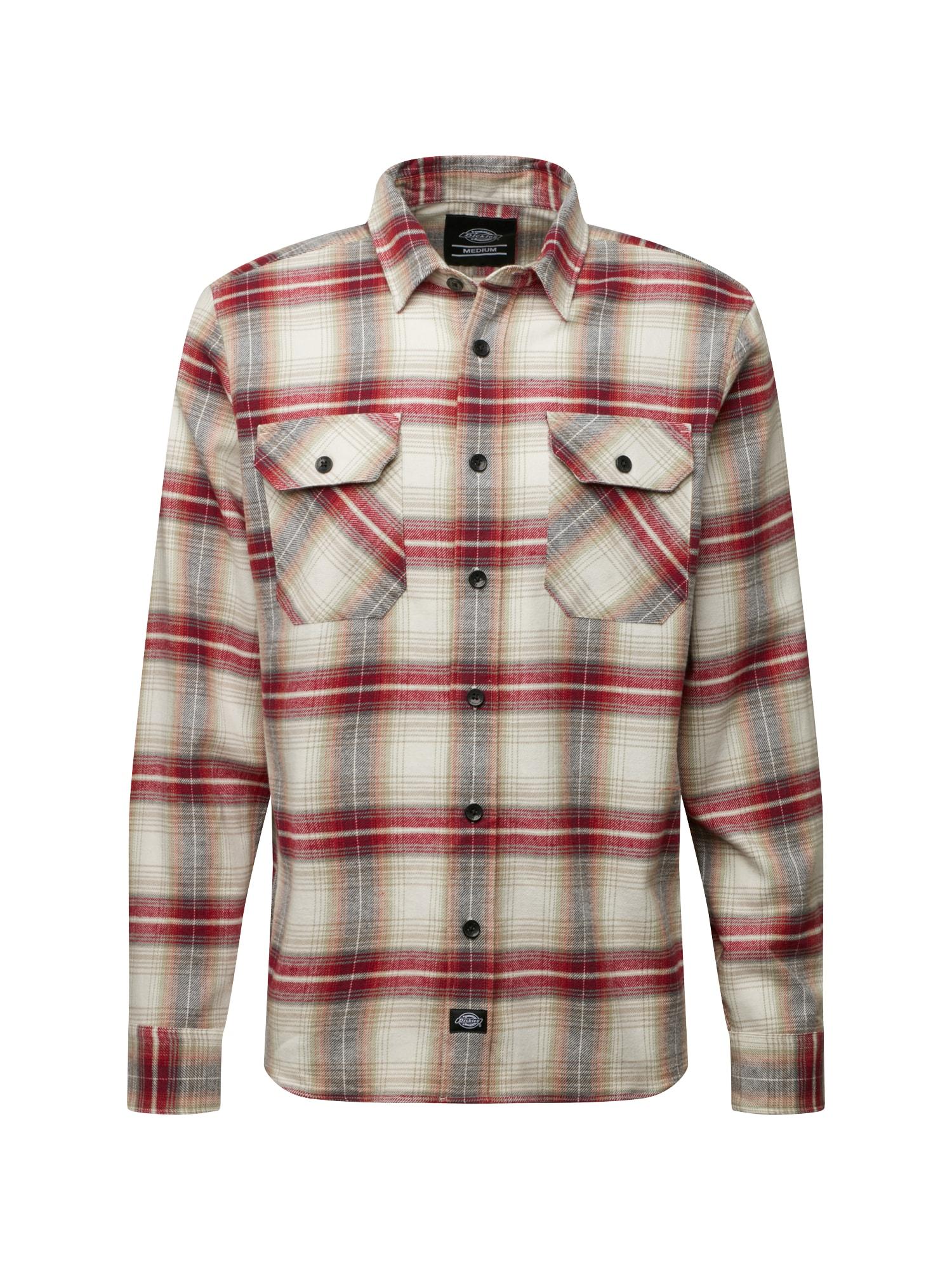Košile Canaan hnědá šedá červená DICKIES