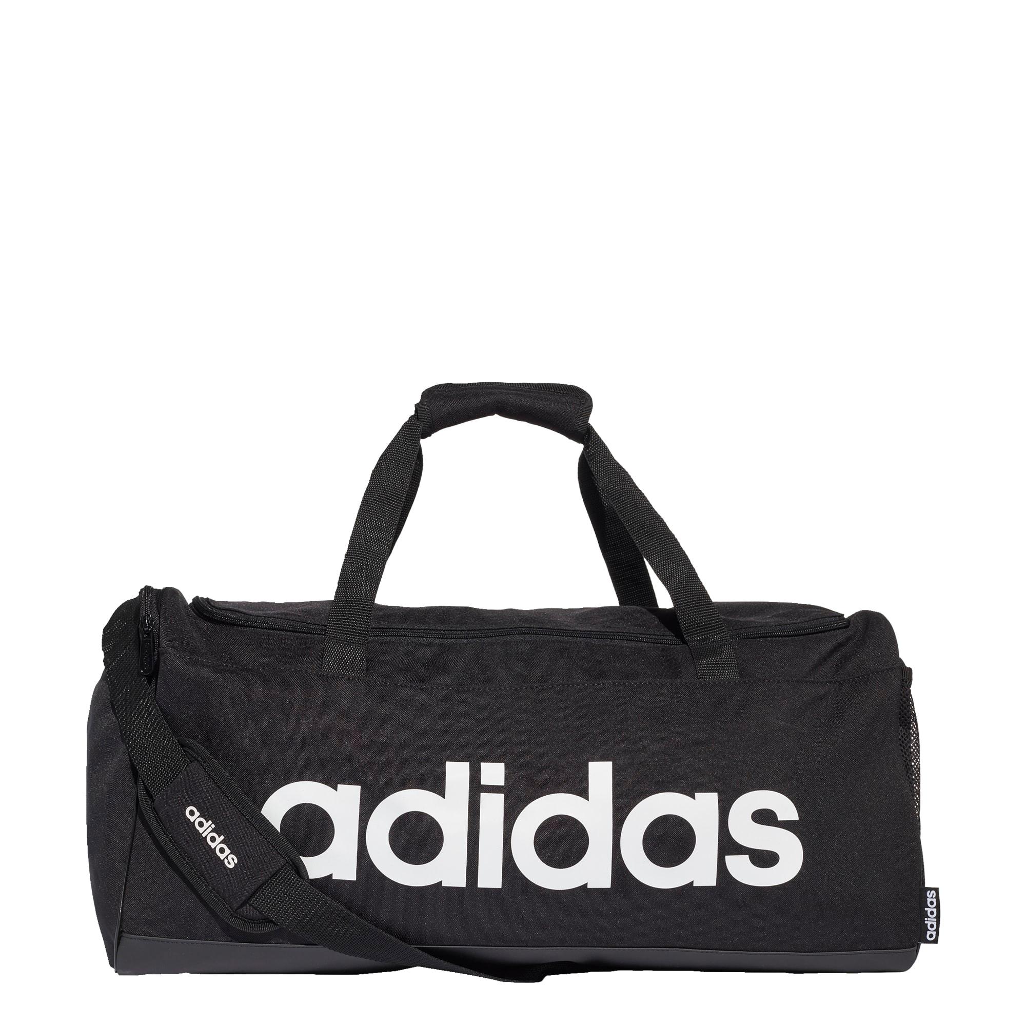 ADIDAS PERFORMANCE Sportinis krepšys juoda / balta