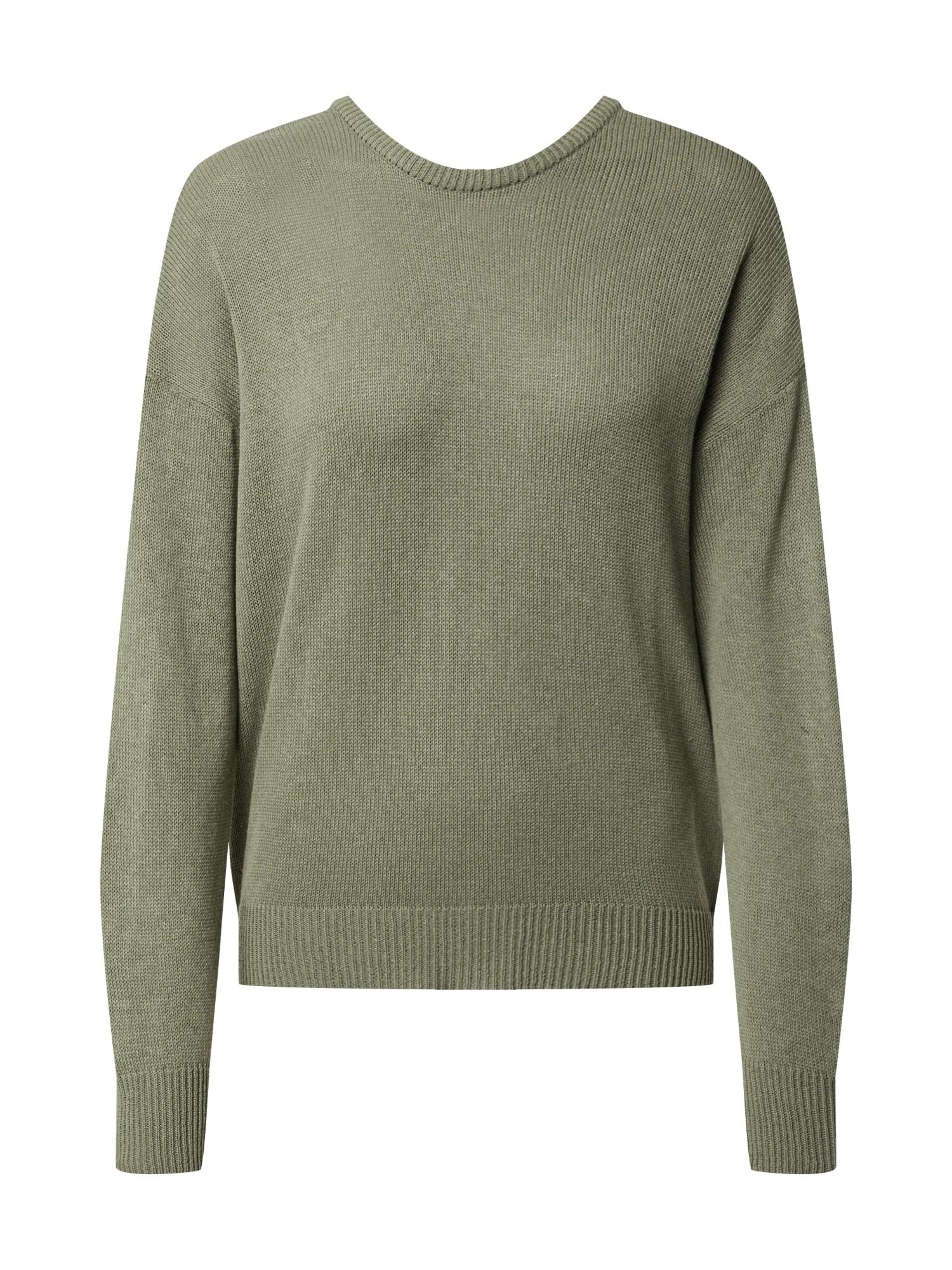 NU-IN Megztinis rusvai žalia