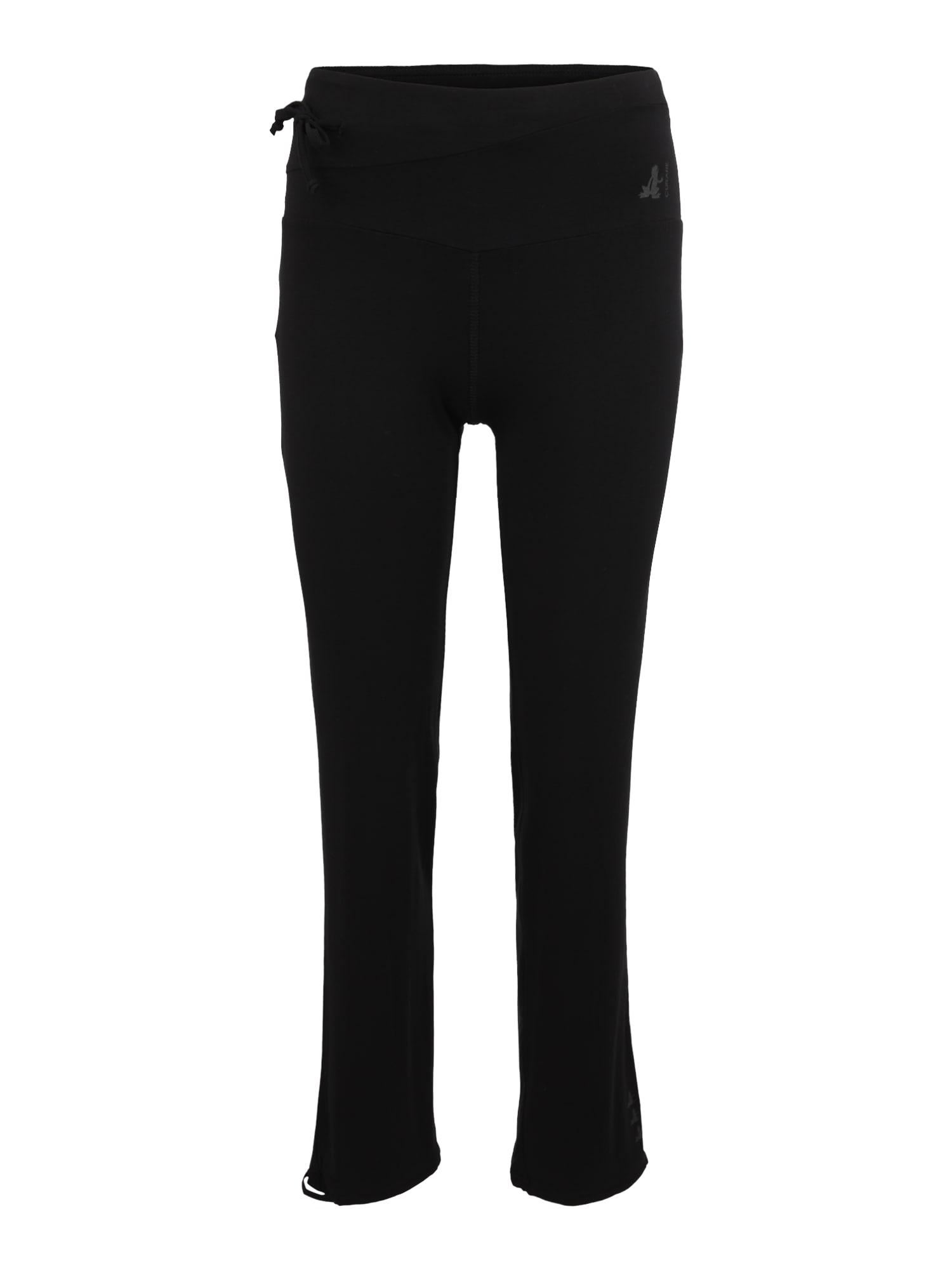 Sportovní kalhoty Flow černá CURARE Yogawear