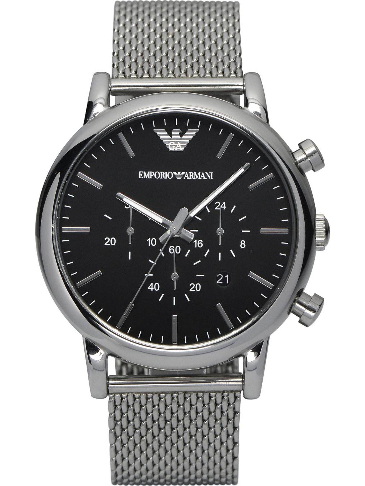 Emporio Armani Analoginis (įprasto dizaino) laikrodis sidabrinė