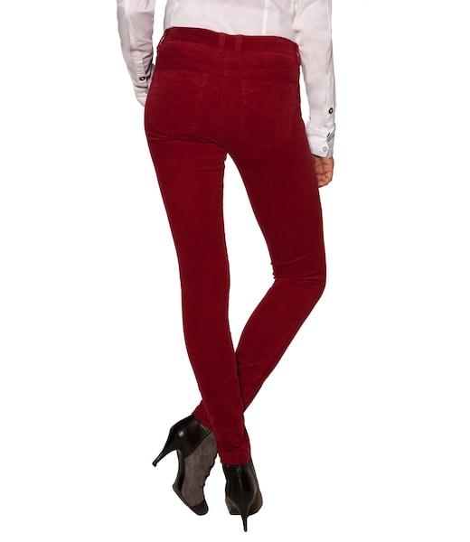 Hosen für Frauen - Soccx Hose dunkelrot  - Onlineshop ABOUT YOU