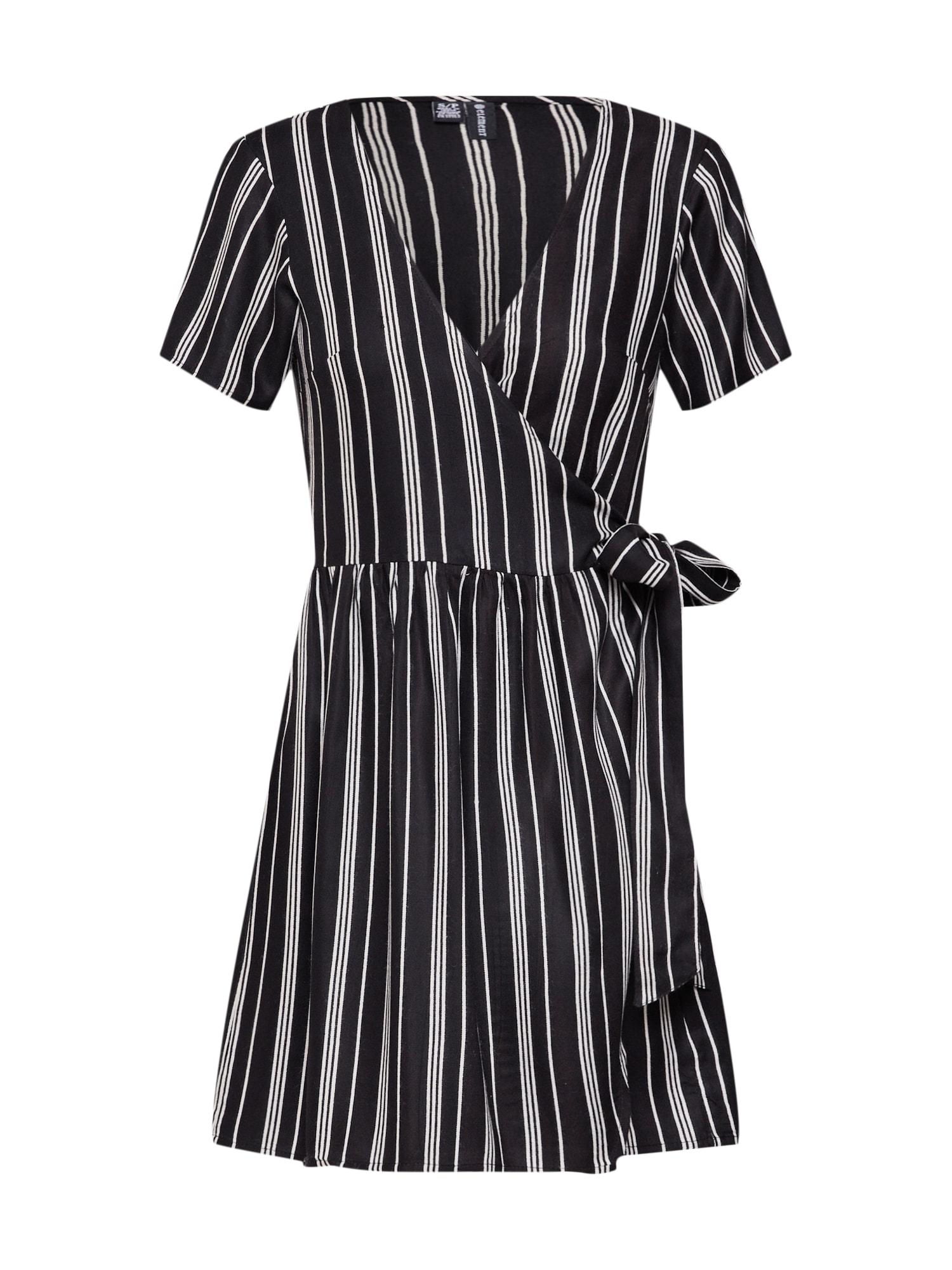 Letní šaty Bella černá bílá ELEMENT