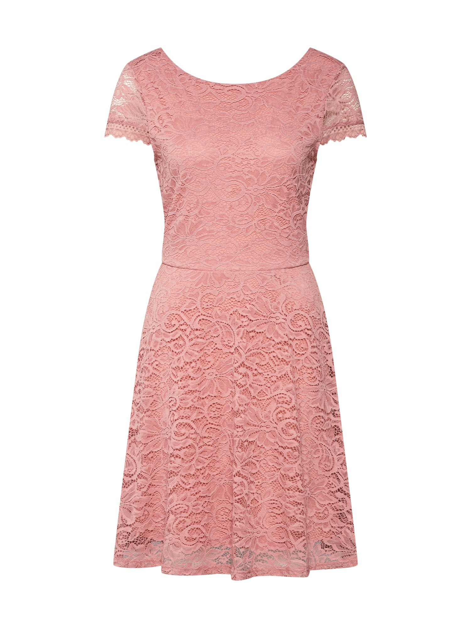 Šaty VMSASSA CAPSL SHORT DRESS BOO JRS růžová VERO MODA