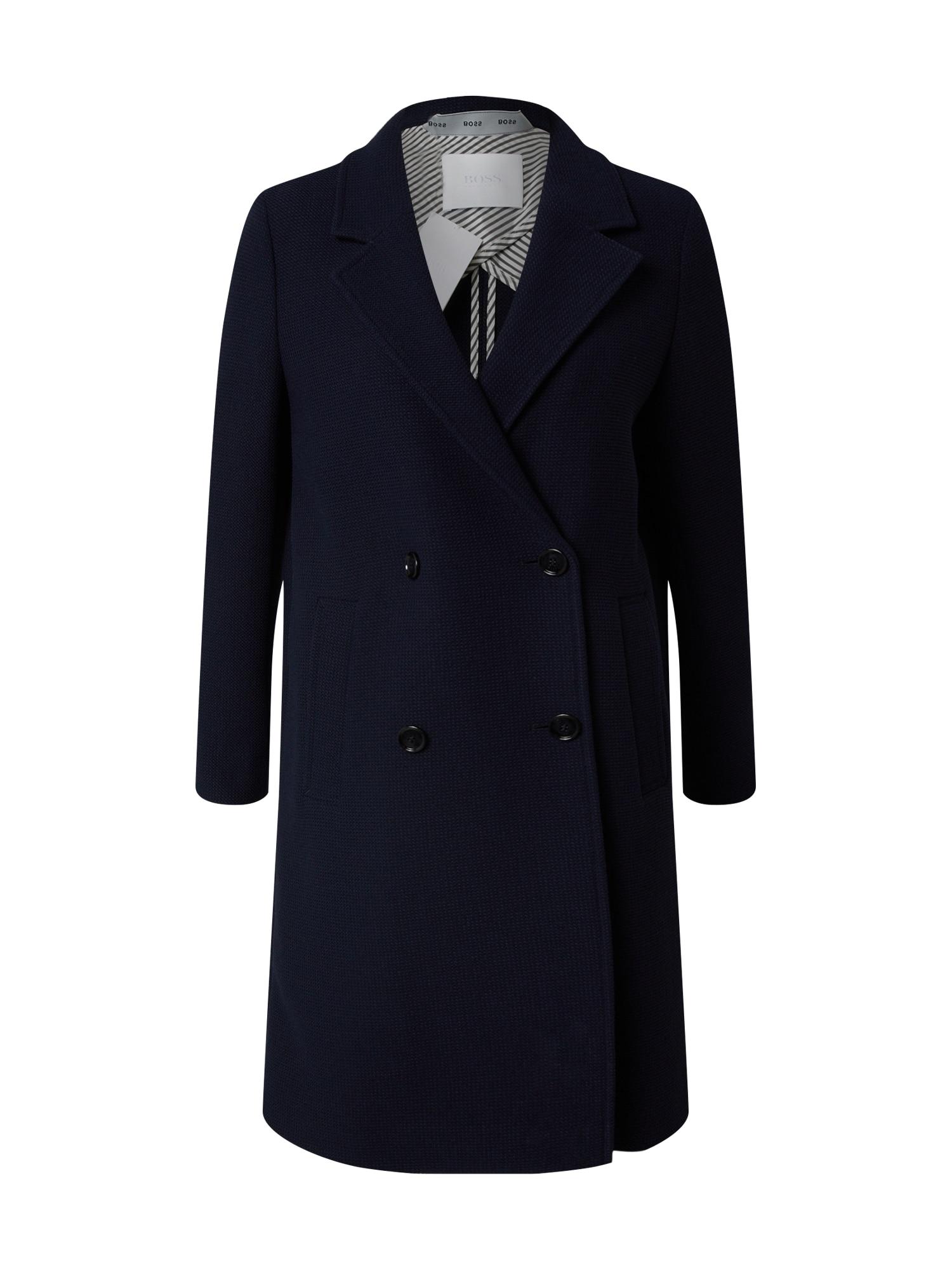 BOSS Rudeninis-žieminis paltas 'Oreath' tamsiai mėlyna