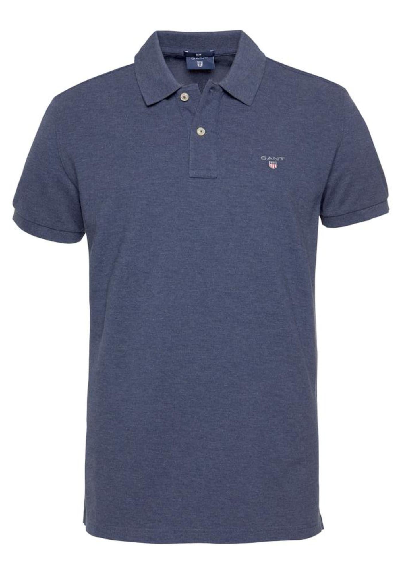 GANT Marškinėliai violetinė-mėlyna