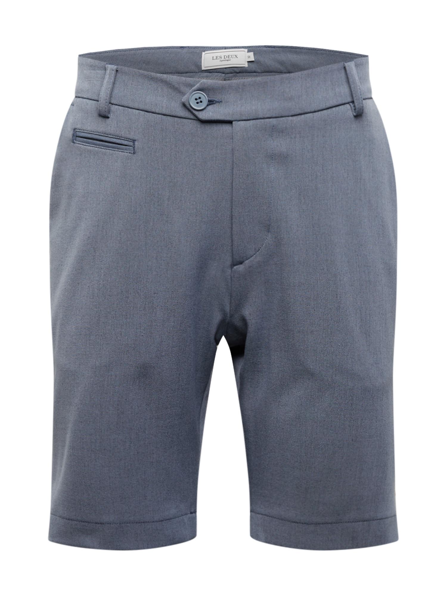 Les Deux Kelnės 'Como LIGHT Shorts' mėlyna