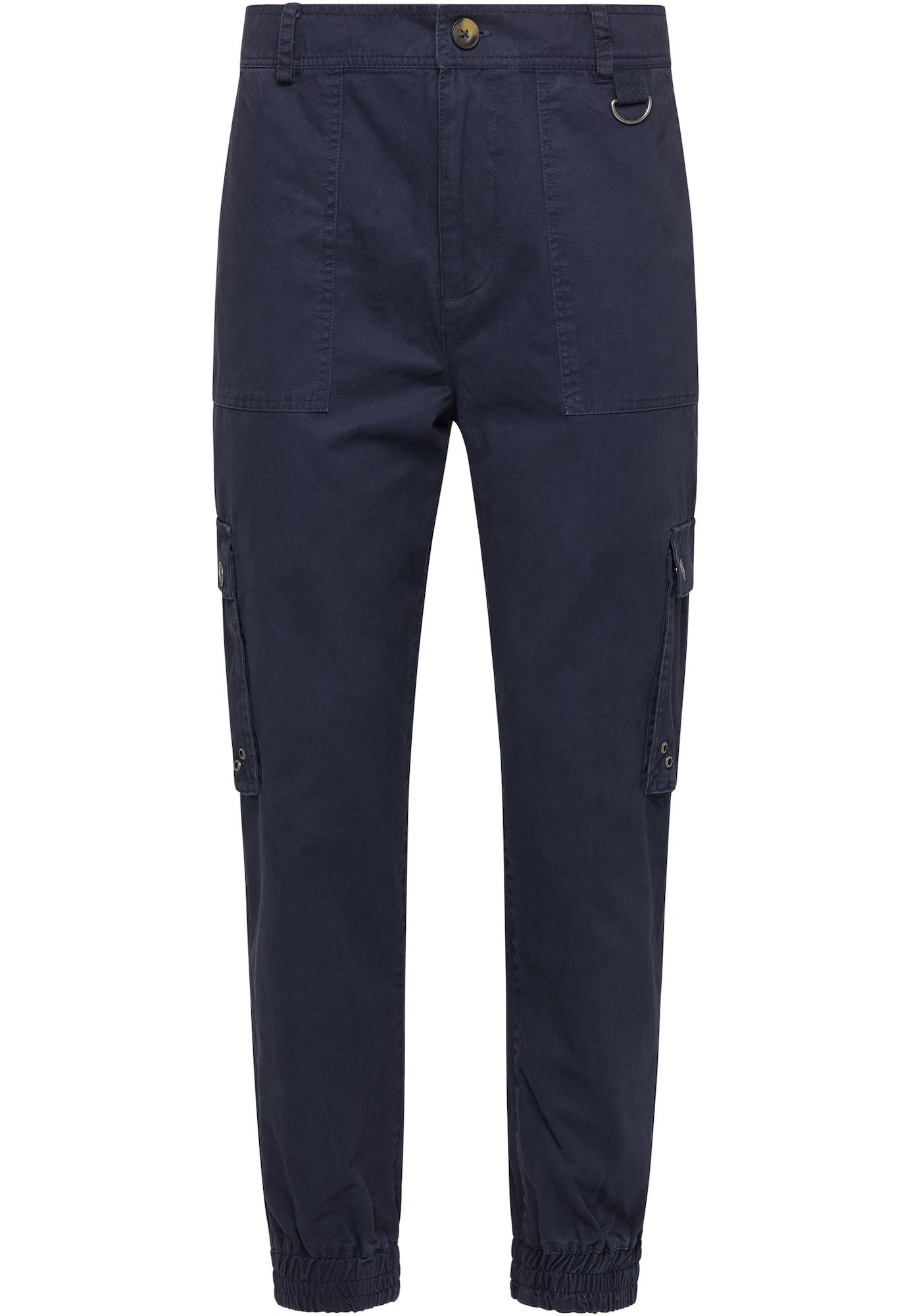 MO Laisvo stiliaus kelnės tamsiai mėlyna