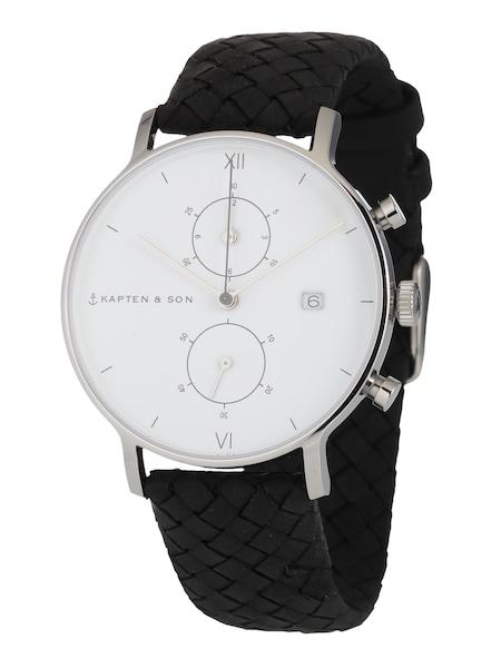 Uhren für Frauen - Kapten Son Armbanduhr 'Chrono Woven' schwarz  - Onlineshop ABOUT YOU