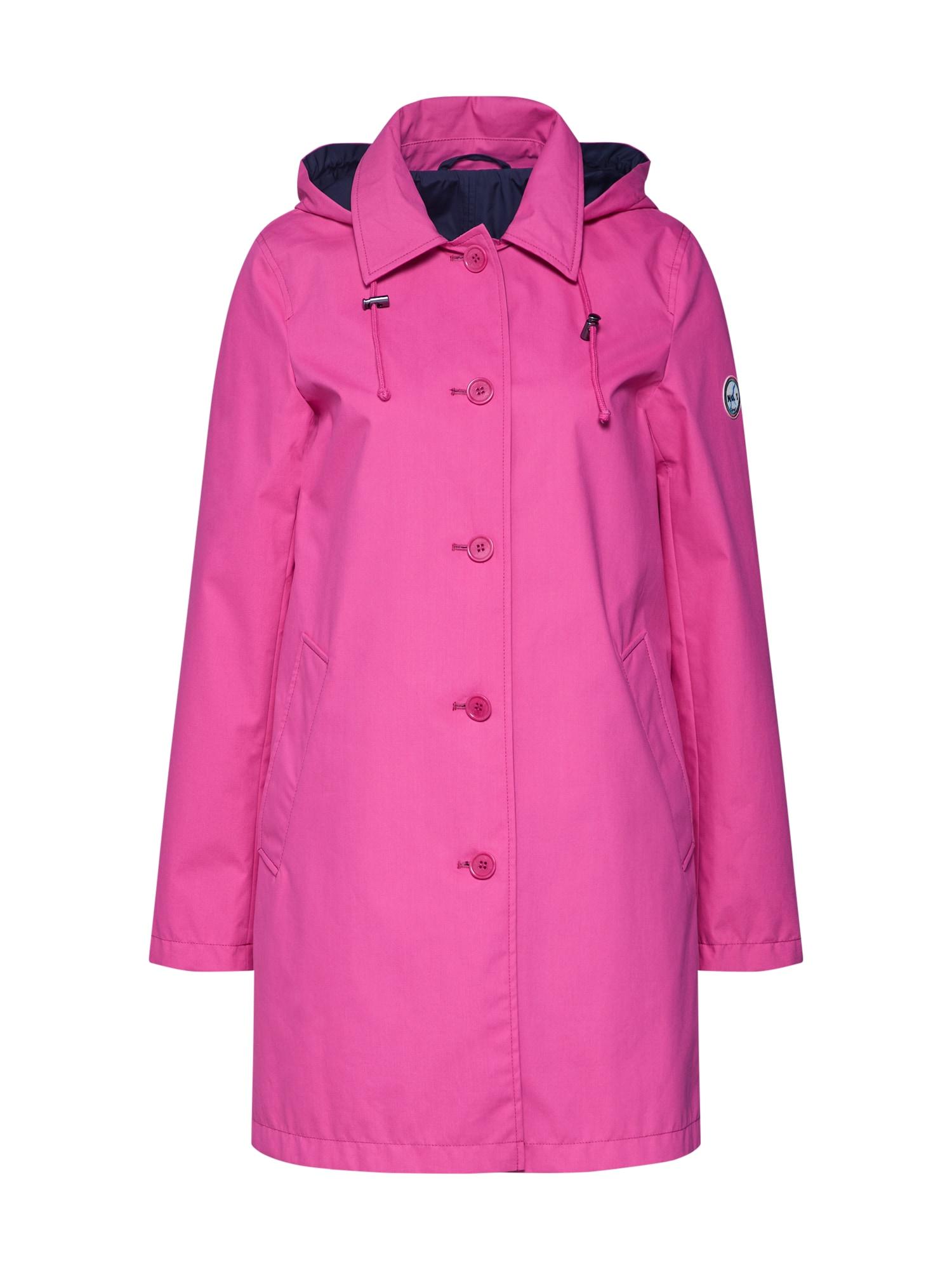 Přechodný kabát VIOLA kobaltová modř pink No. 1 Como