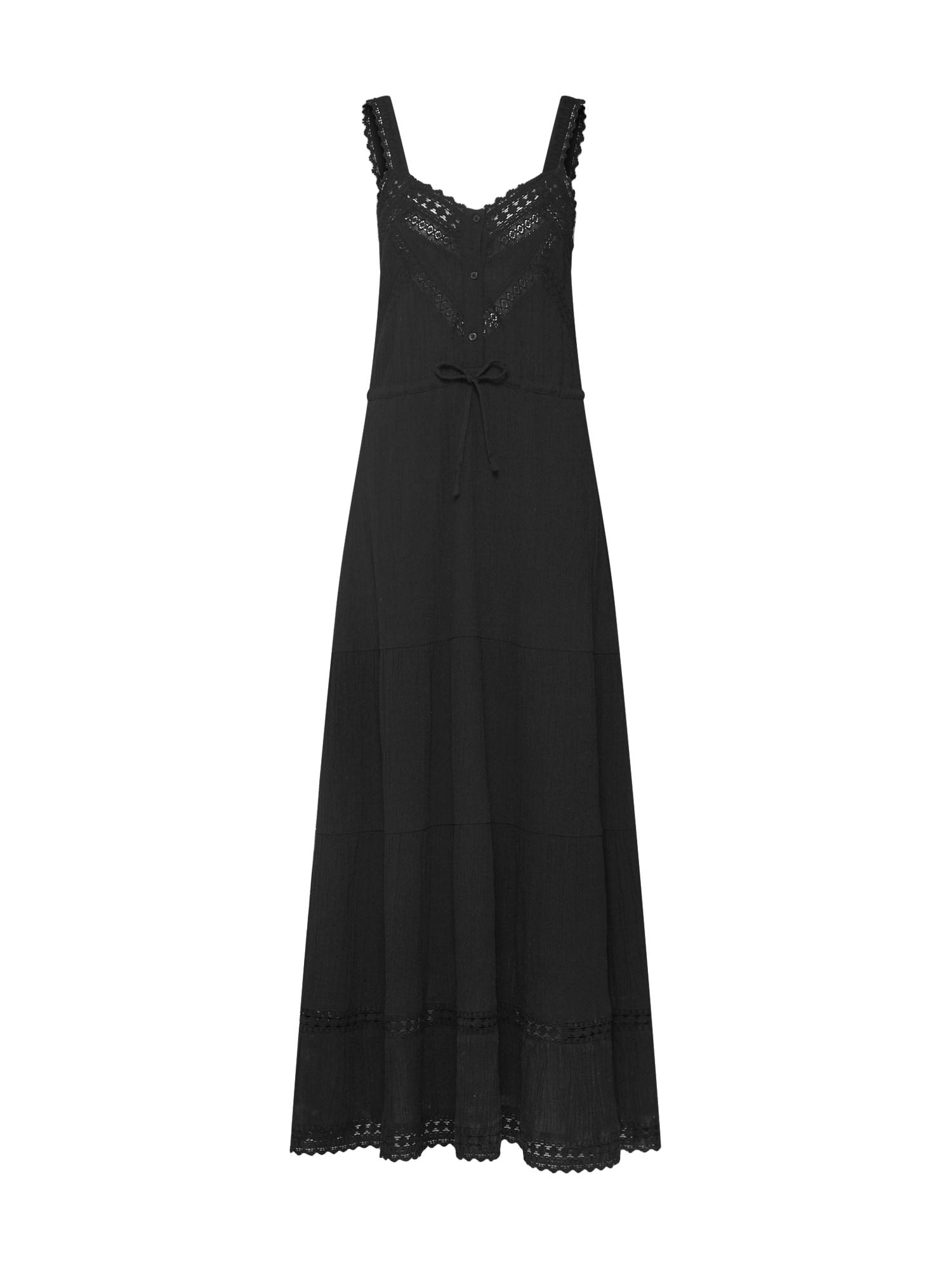 EDITED Vasarinė suknelė 'Blanka' juoda