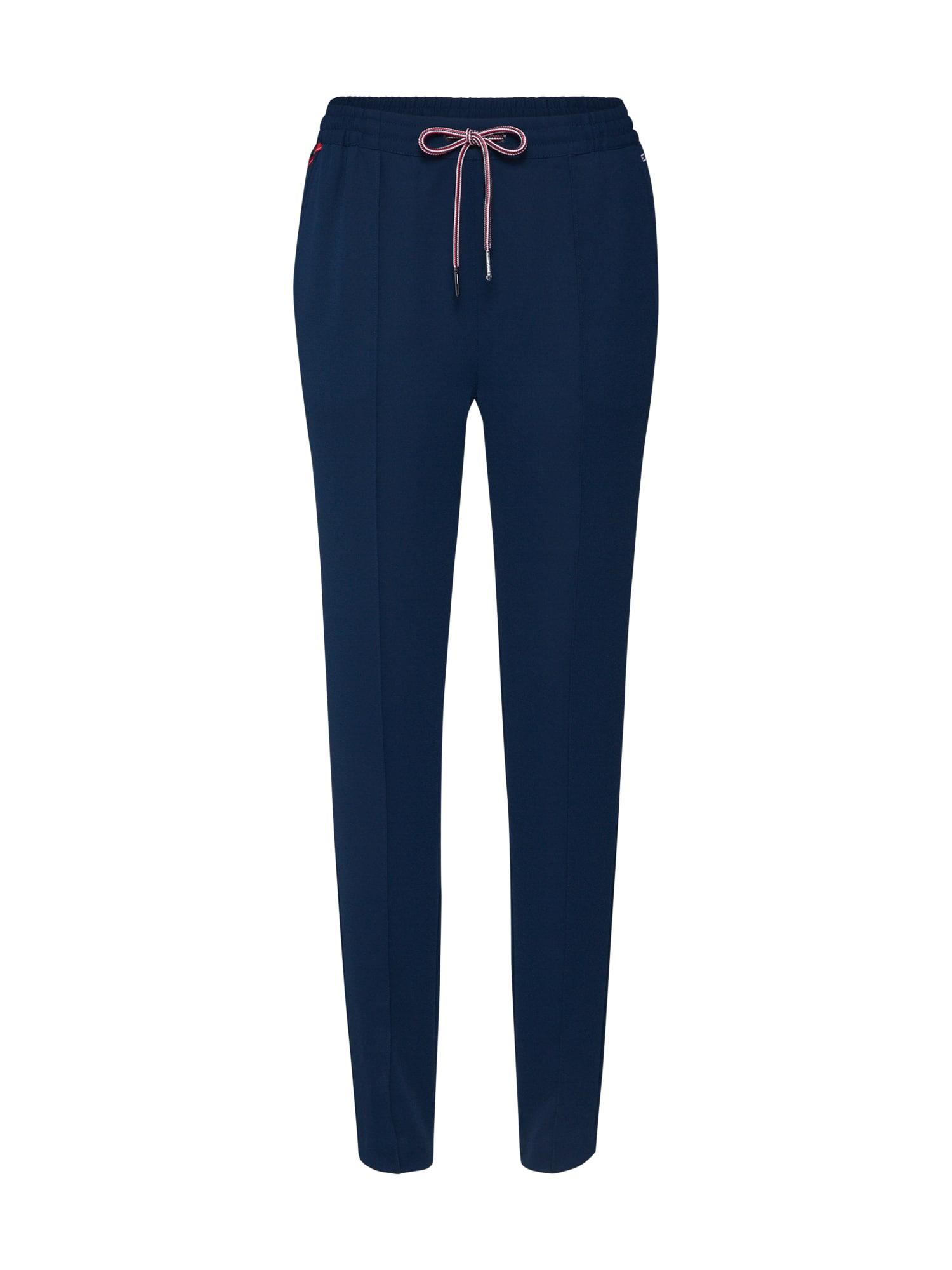 Tommy Jeans Pižaminės kelnės 'TJW SMART JOGGER' tamsiai mėlyna