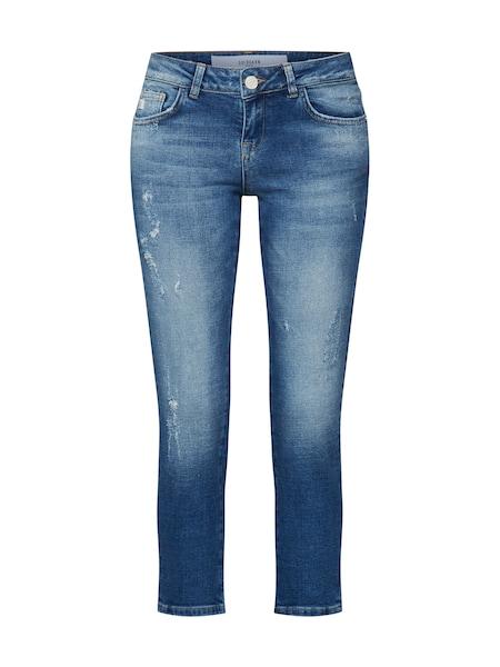 Hosen - Jeans 'Rosengarten Cropped' › Goldgarn › blau  - Onlineshop ABOUT YOU