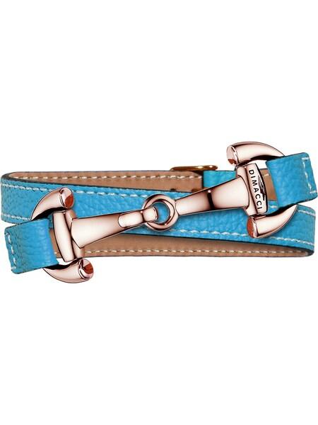 Armbaender für Frauen - Dimacci Armband 'Alba' neonblau bronze  - Onlineshop ABOUT YOU