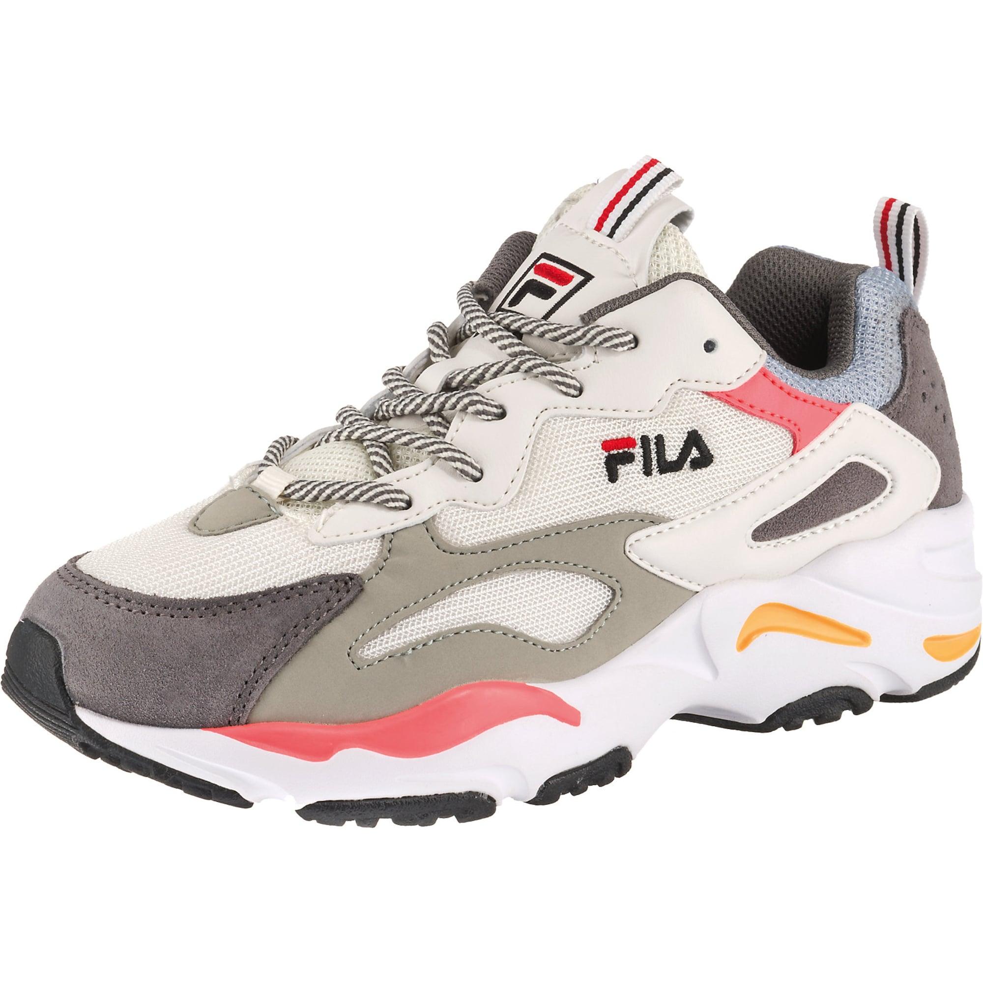 Damen Fila Sneakers Low 'Ray Tracer' indigo, schwarz, weiß   08719477241596