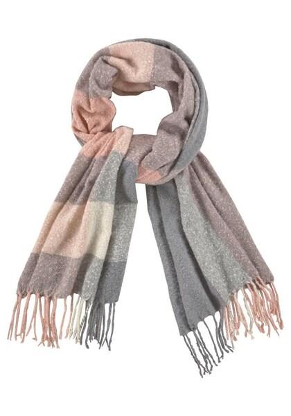 Schals für Frauen - J. Jayz Modeschal grau rosé  - Onlineshop ABOUT YOU