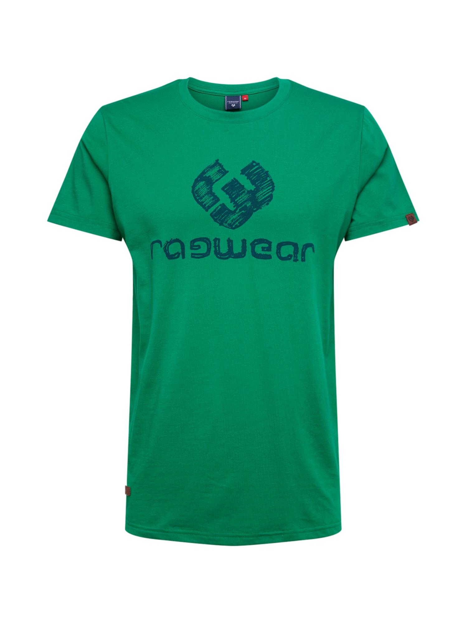Ragwear Tričko 'CHARLES'  zelená / modré