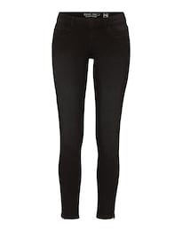 Damen Noisy May Jeans Eve schwarz | 05713440959245