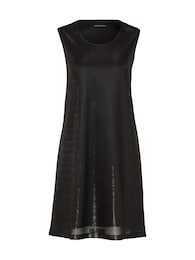 DRYKORN Damen Minikleid mit Metallic-Effekt Soraya 60309 schwarz | 04050071314007
