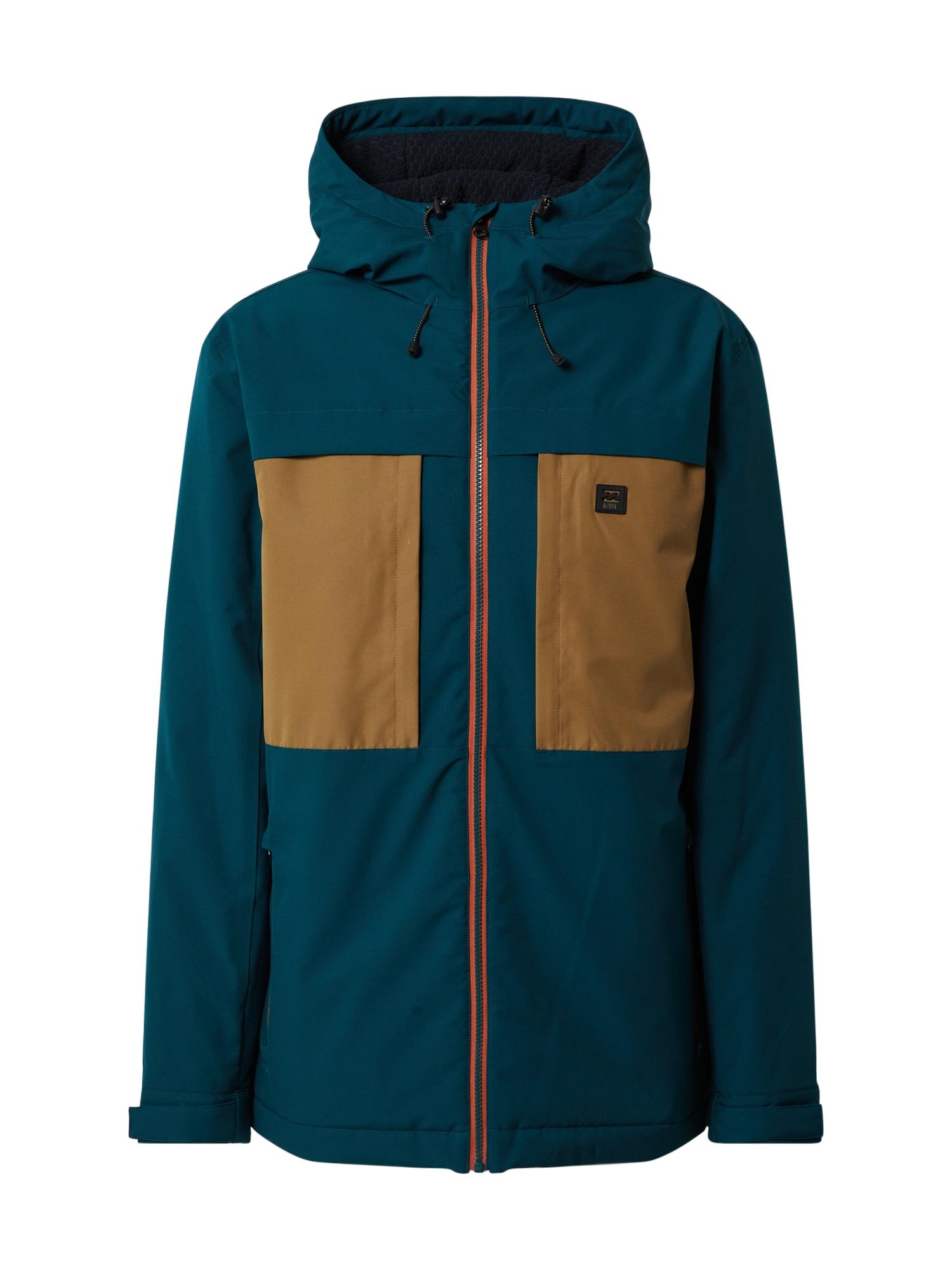 BILLABONG Prechodná bunda 'Cliff Stretch 10k'  béžová / modrá
