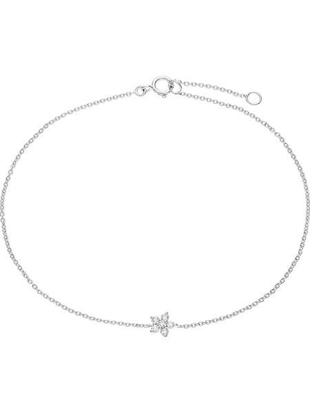 Armbaender für Frauen - CHRIST Armband 'Diamonds' gold silber weiß  - Onlineshop ABOUT YOU