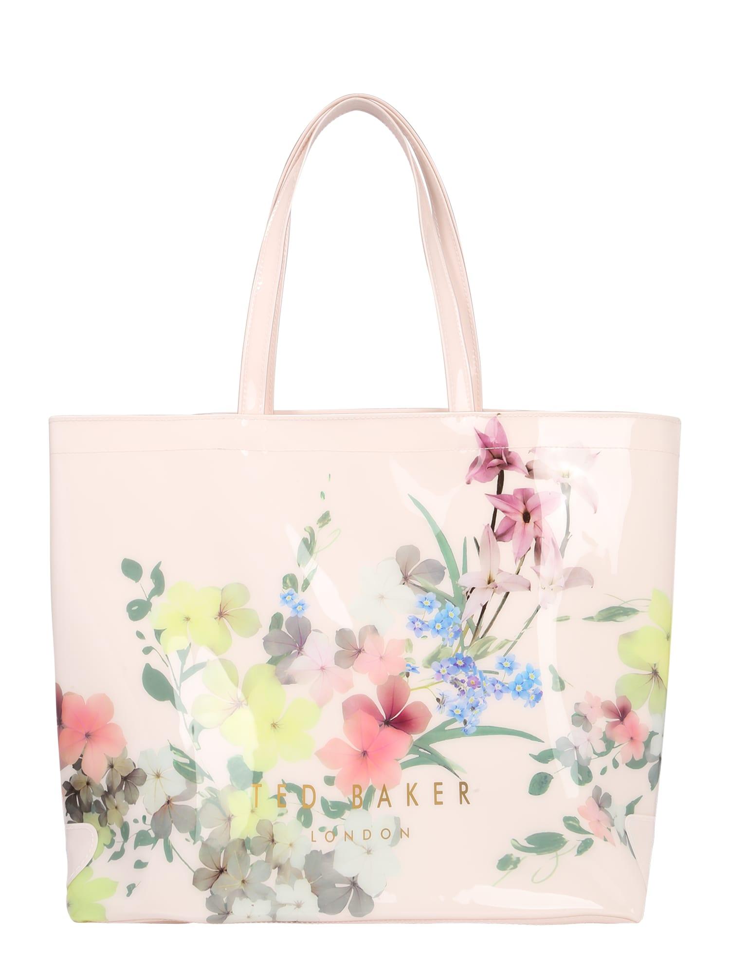 Ted Baker Nákupní taška 'Tonycon'  růžová / starorůžová / zelená / světlemodrá / mix barev