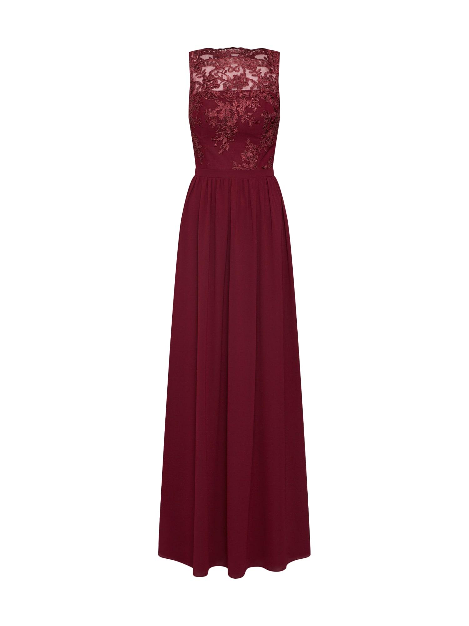Chi Chi London Vakarinė suknelė 'Tiffy' vyšninė spalva