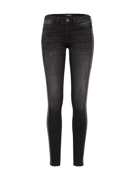 Hosen für Frauen - GUESS 'JEGGING' Skinny Jeans black denim  - Onlineshop ABOUT YOU