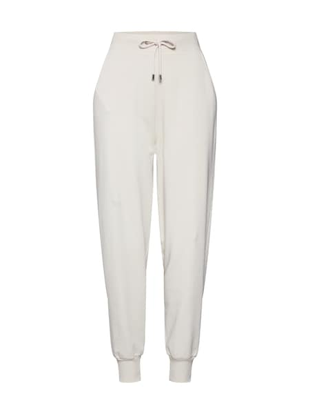 Hosen - Jogginghose 'Line' by Sarina Nowak › ABOUT YOU Limited › beige  - Onlineshop ABOUT YOU