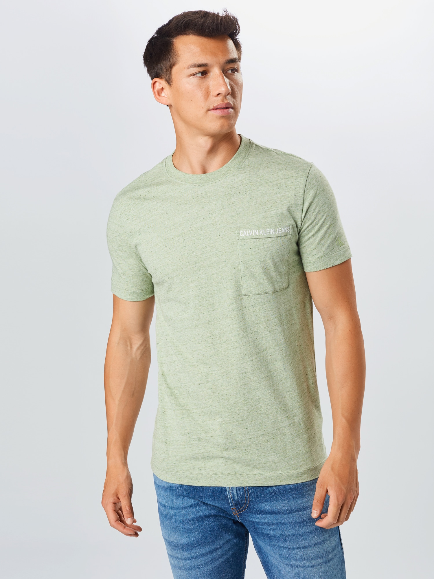Calvin Klein Jeans T-shirt  grön