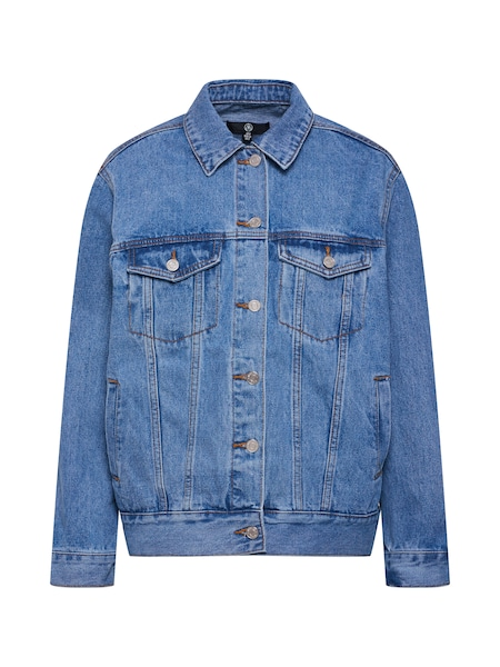 Jacken - Jacke 'OVERSIZED DENIM JACKET' › Missguided › blue denim  - Onlineshop ABOUT YOU
