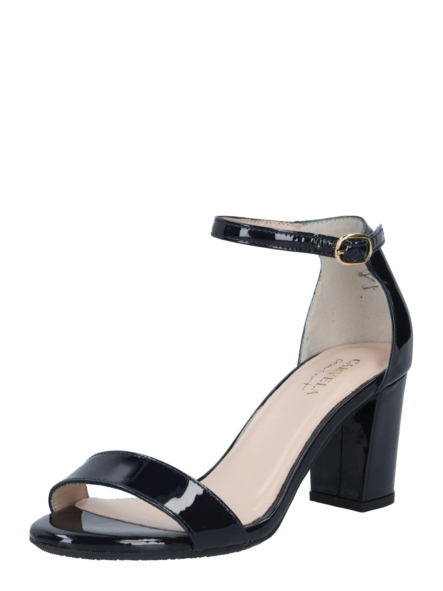 Carvela by Kurt Geiger Remienkové sandále 'Abigail'  čierna