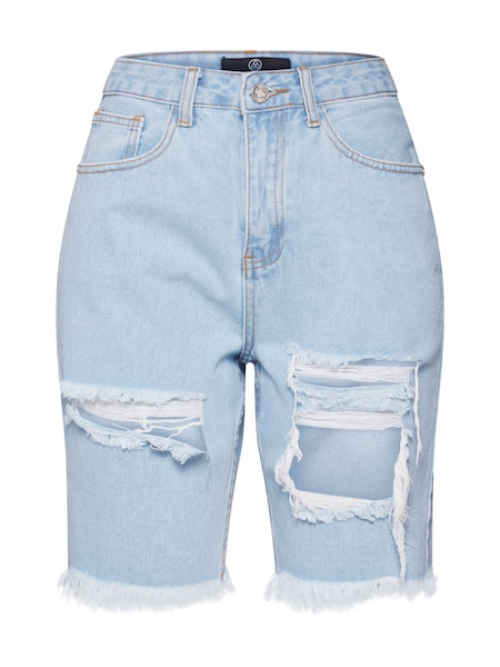 Hosen für Frauen - Missguided Shorts blue denim  - Onlineshop ABOUT YOU