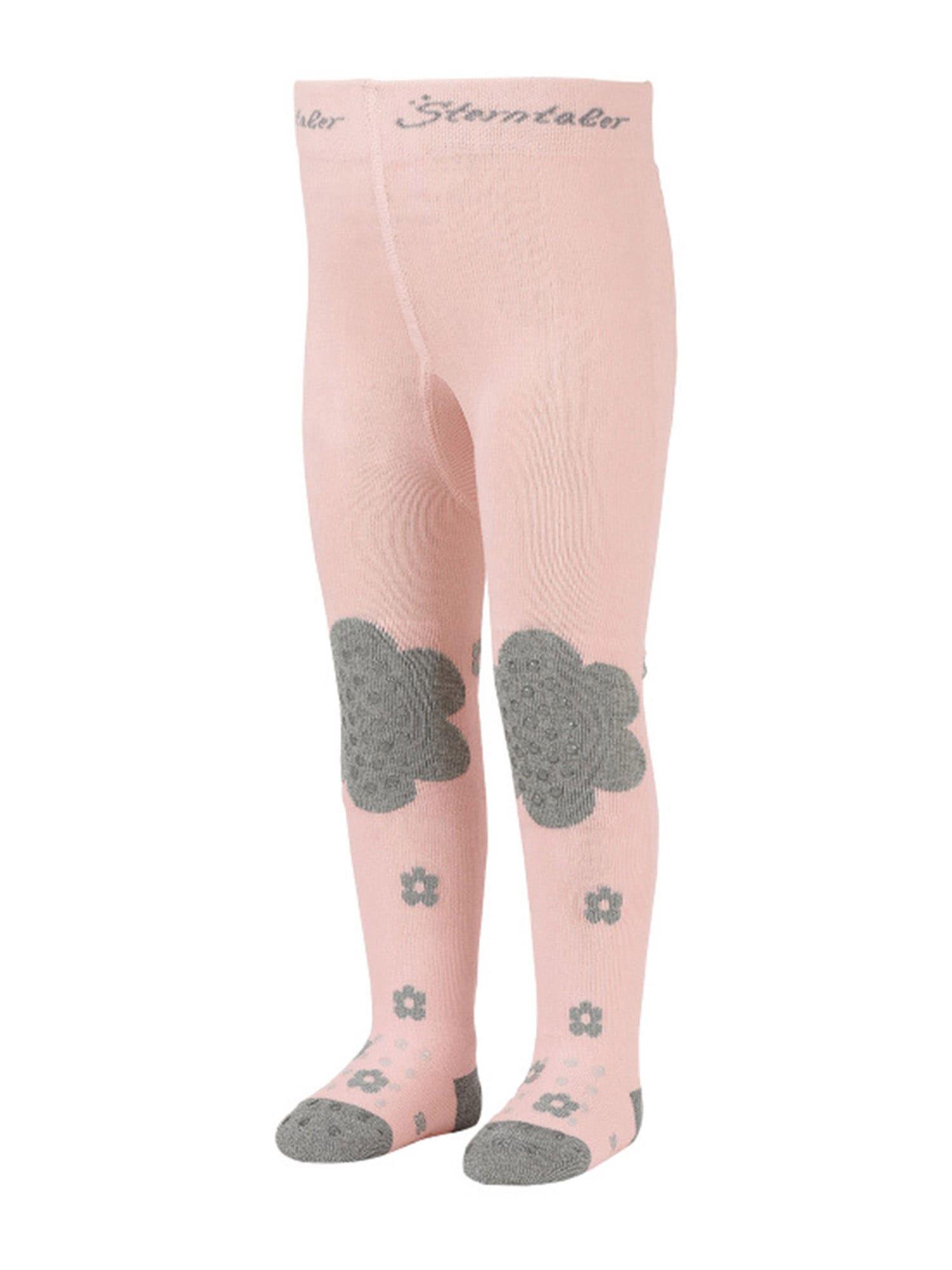 STERNTALER Pėdkelnės 'Emmi' margai pilka / rožių spalva