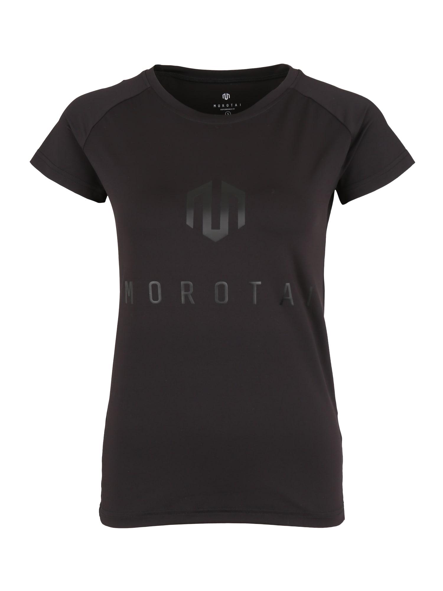 Funkční tričko NAKA Performance černá MOROTAI