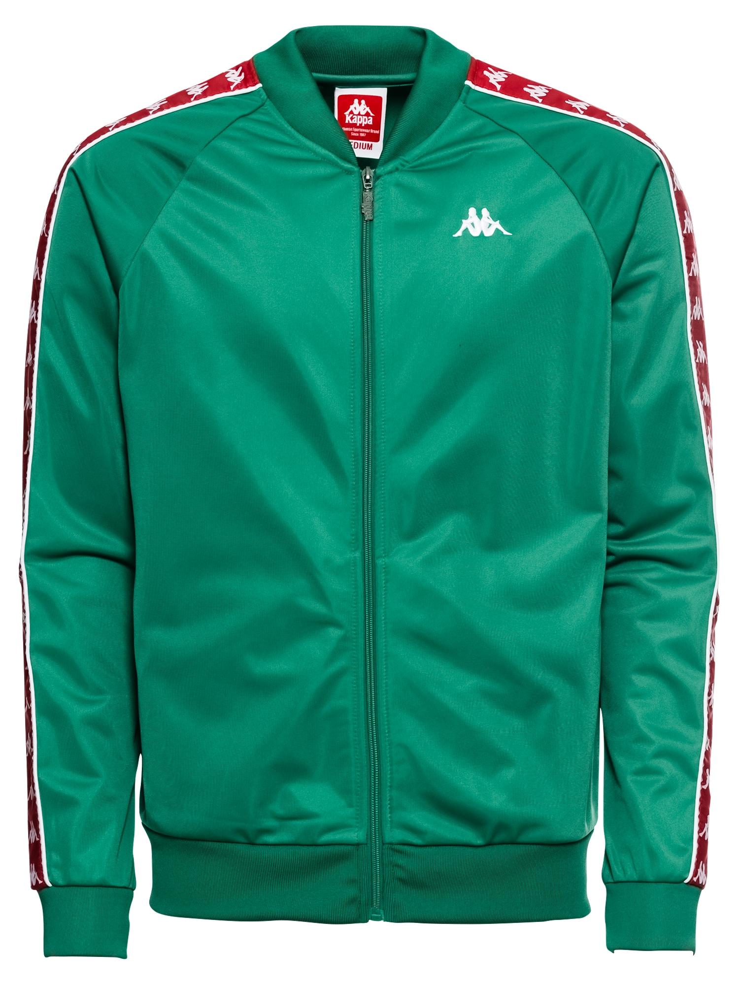 Přechodná bunda EGIL zelená červená bílá KAPPA