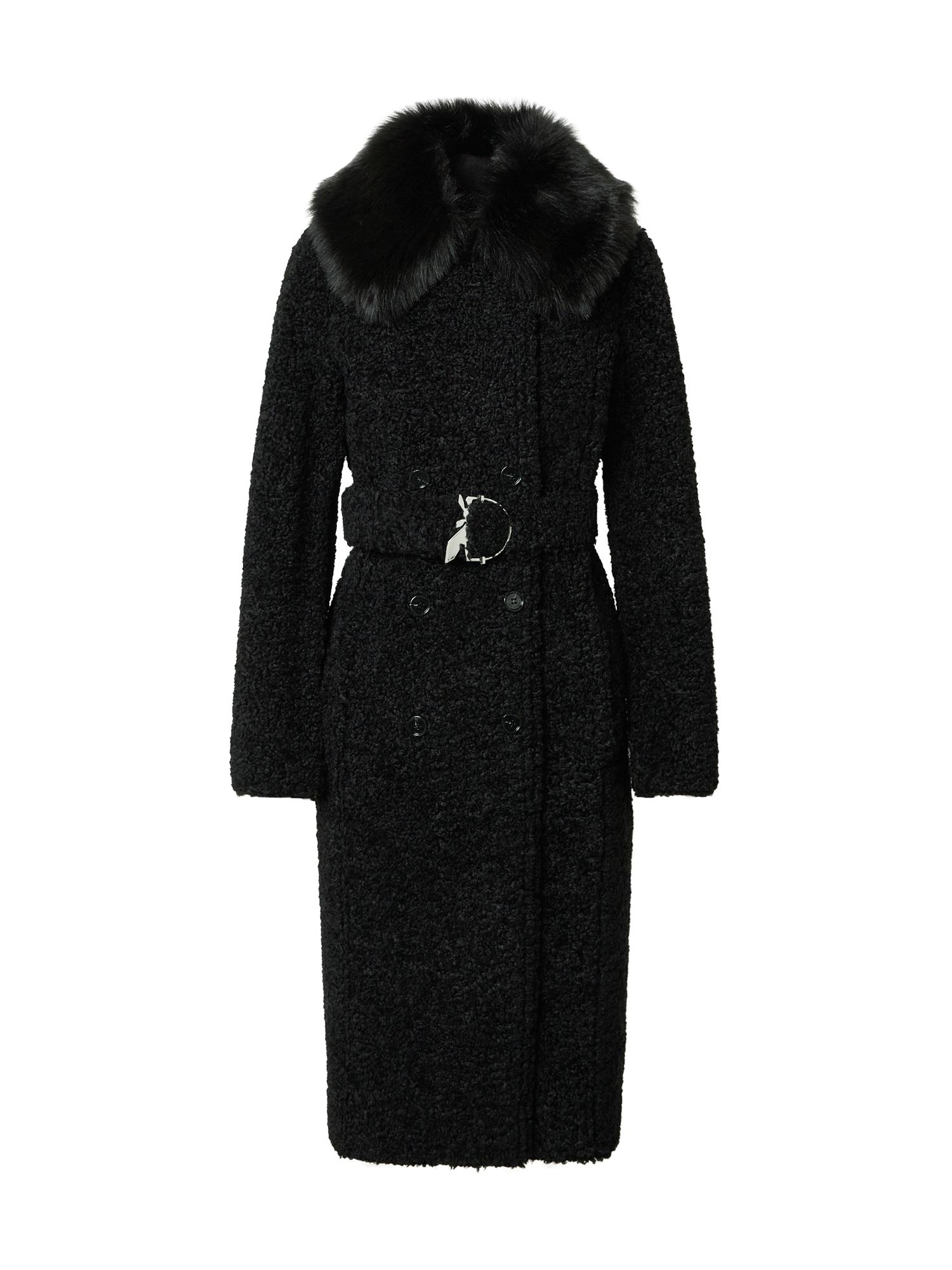 PATRIZIA PEPE Demisezoninis paltas juoda