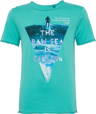 TOM TAILOR Tee 'photoprint beach'