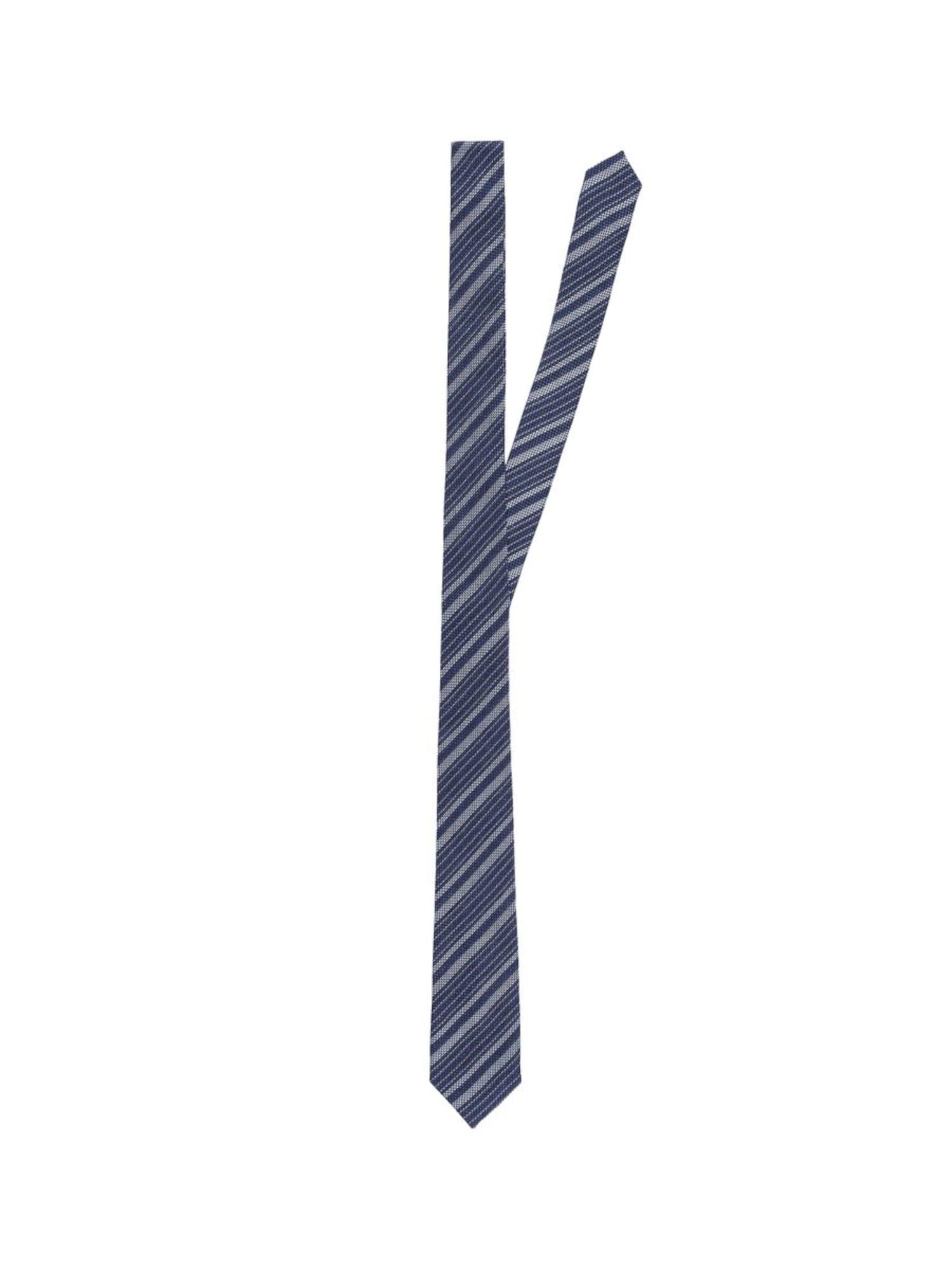 Herren J.Lindeberg Krawatte 'Lalle Silk' blau,  weiß   07310427708988