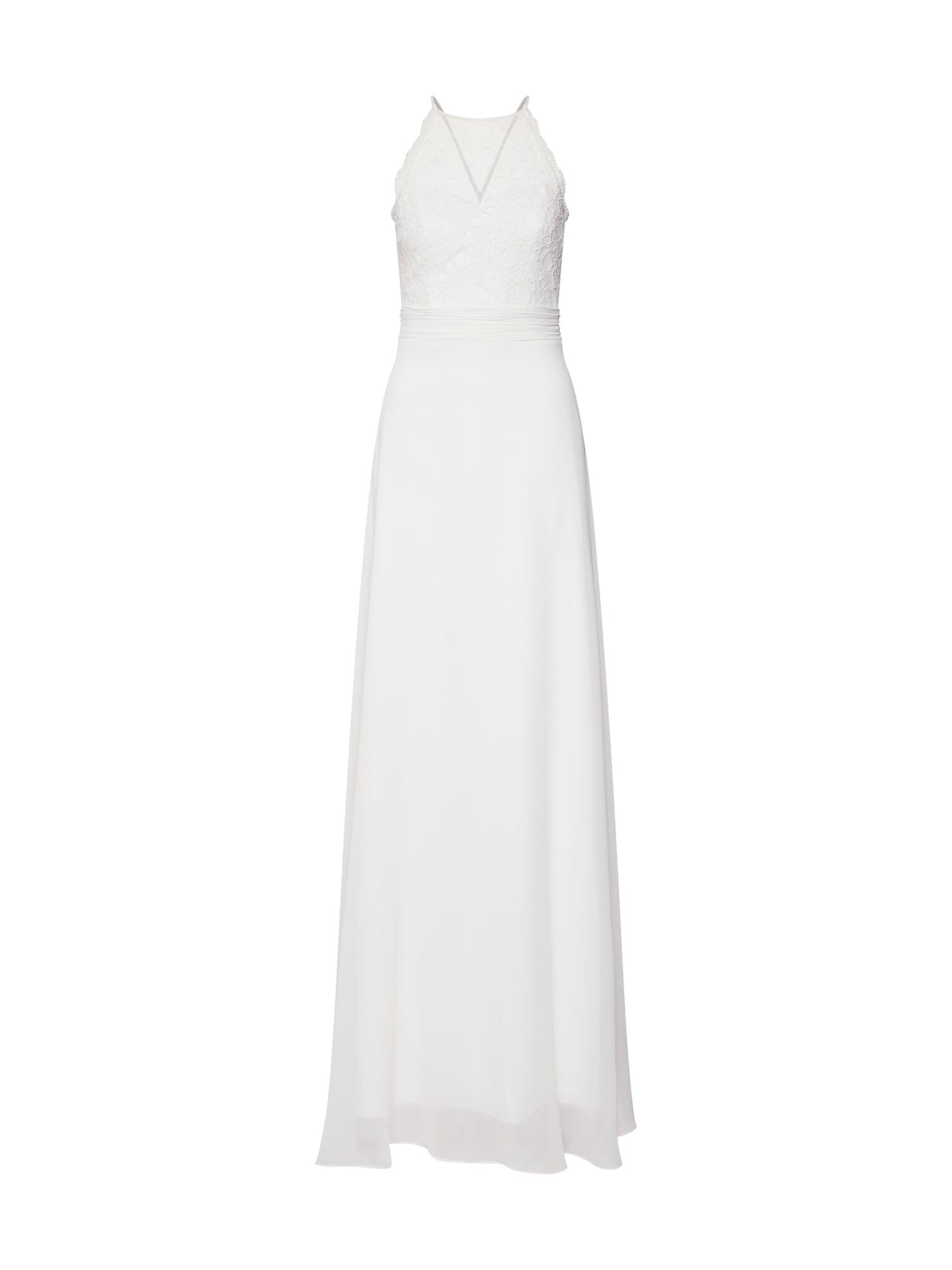 STAR NIGHT Vakarinė suknelė natūrali balta