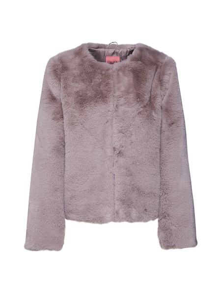 Jacken für Frauen - Chi Chi London Jacke 'Fake Fur' grau  - Onlineshop ABOUT YOU