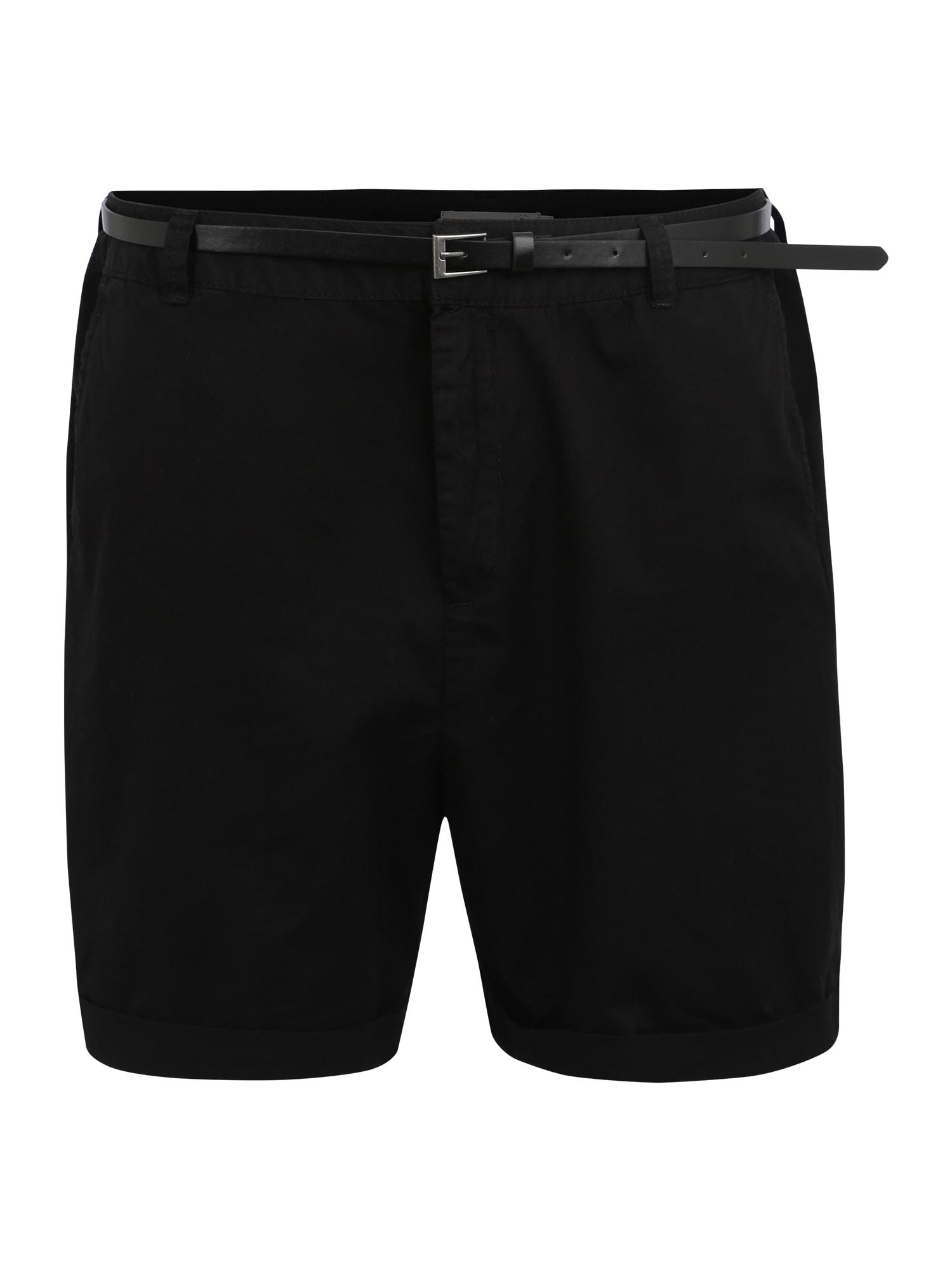 Chino kalhoty FLASH MR CHINO černá Vero Moda Curve