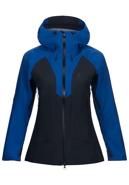Jacken für Frauen - PEAK PERFORMANCE Skijacke 'Tour GTX' blau schwarz  - Onlineshop ABOUT YOU