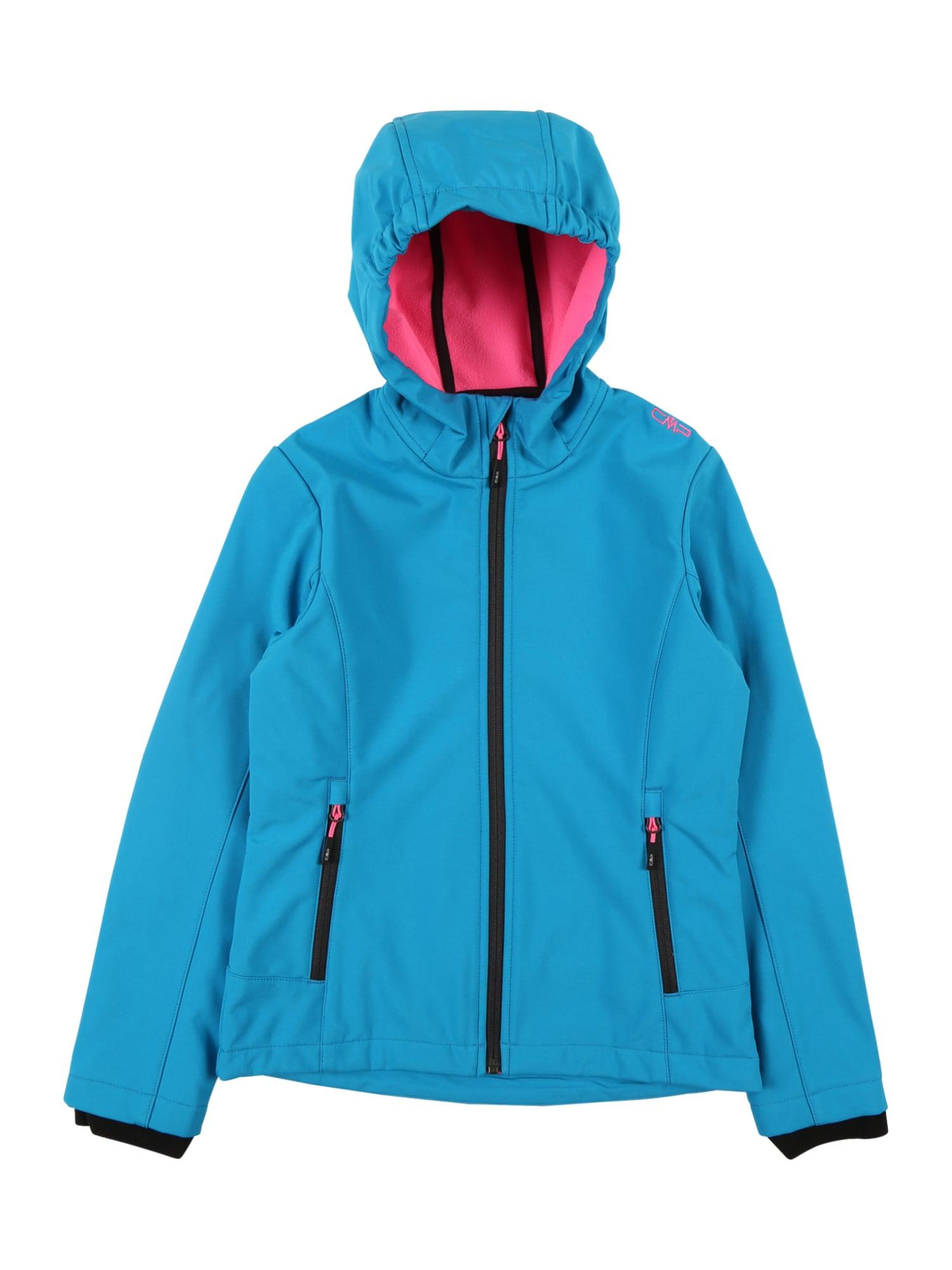 CMP Funkční bunda  pink / nebeská modř
