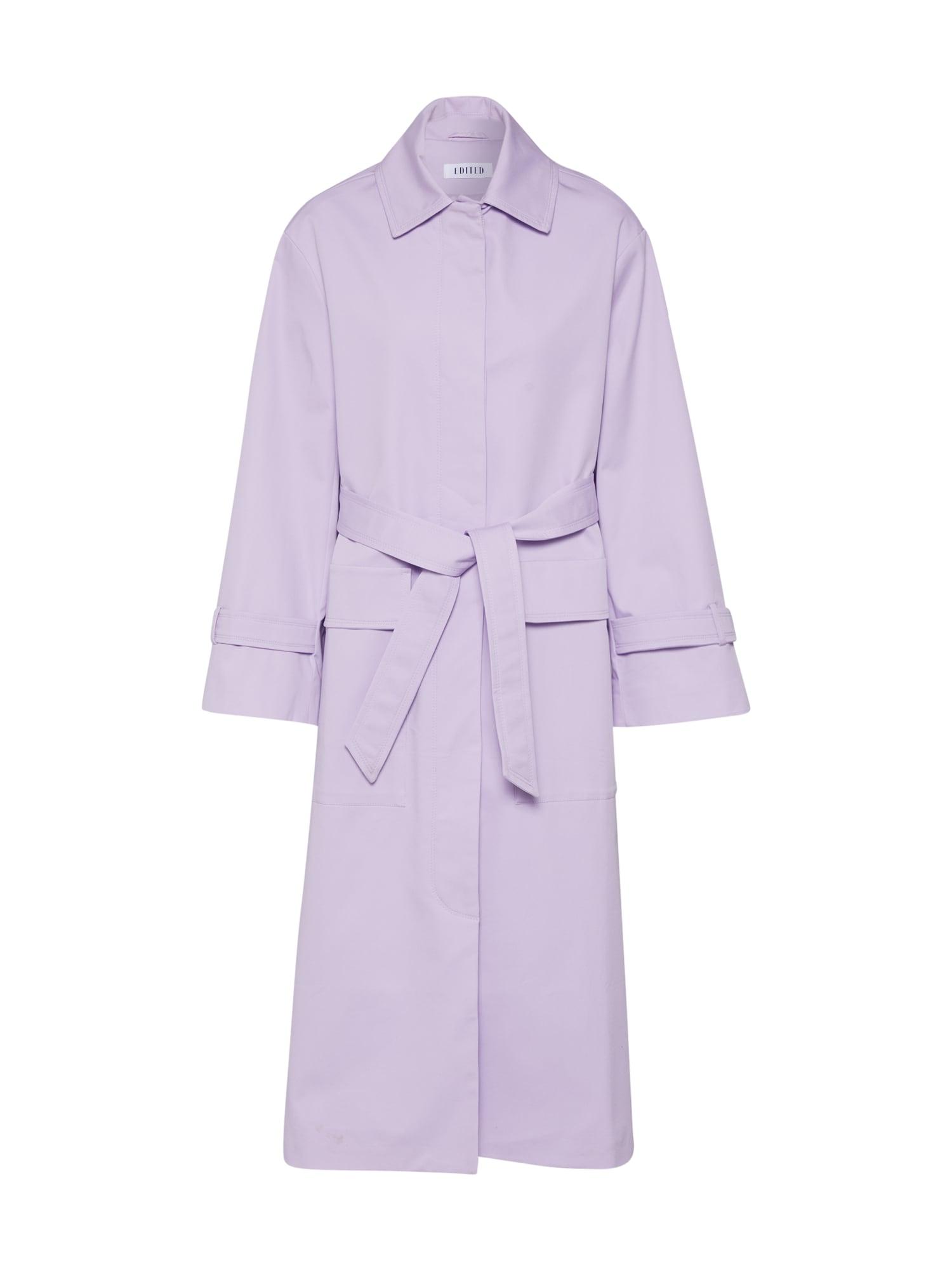 EDITED Rudeninis-žieminis paltas 'Filip' alyvinė spalva