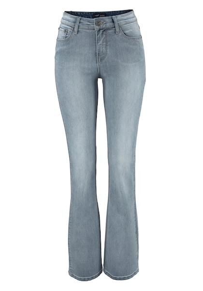 Hosen - High waist Jeans 'Bootcut' › ARIZONA › blue denim  - Onlineshop ABOUT YOU