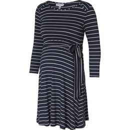 Damen Umstandskleid SALOME blau,weiß | 03700798270827