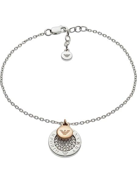 Armbaender für Frauen - Emporio Armani Armband 'EG3378040' gold silber  - Onlineshop ABOUT YOU