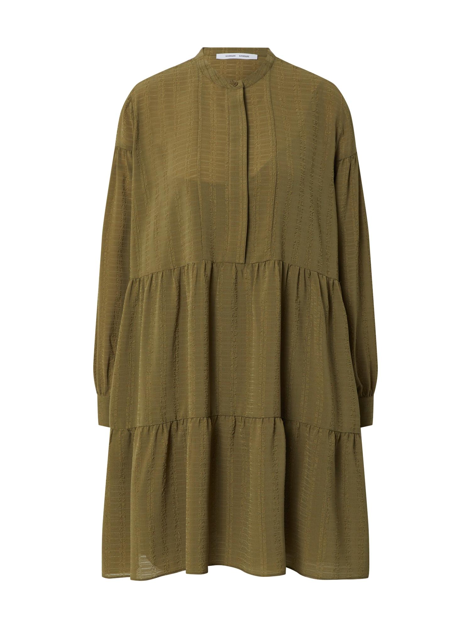 Samsoe Samsoe Košeľové šaty 'Margo'  kaki