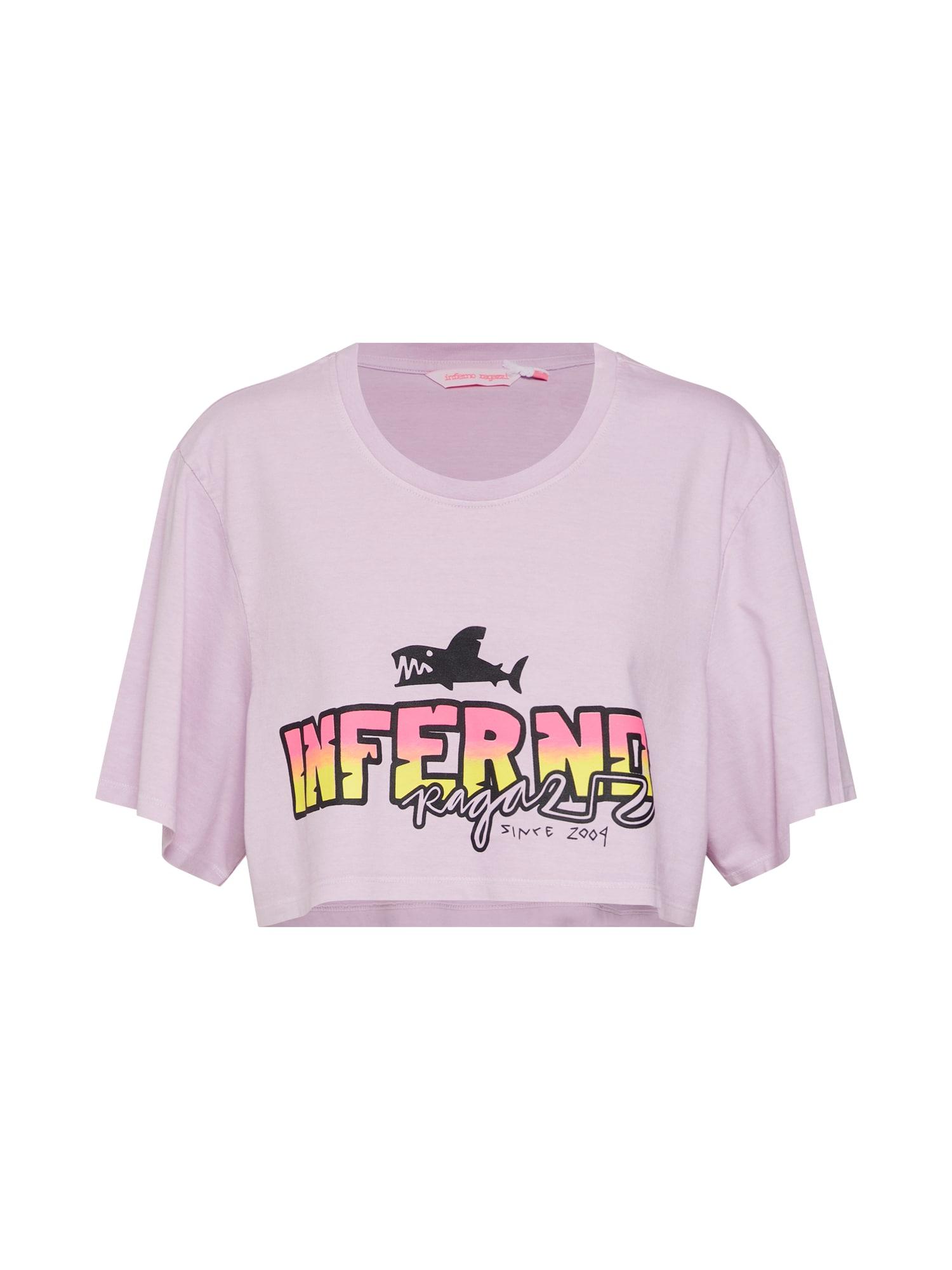 Tričko Hell Yeah lenvandulová mix barev pink Inferno Ragazzi